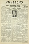 The Echo: October 30, 1937 by Taylor University
