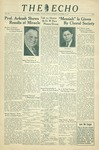 The Echo: December 18, 1937 by Taylor University