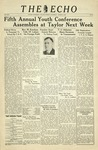 The Echo: March 5, 1938 by Taylor University