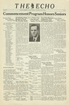 The Echo: May 28, 1938 by Taylor University