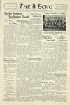 Taylor University Echo (November 12, 1938) by Taylor University