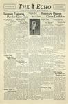 Taylor University Echo (December 3, 1938) by Taylor University