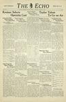 Taylor University Echo (January 14, 1939) by Taylor University