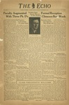 The Echo: September 16, 1939 by Taylor University