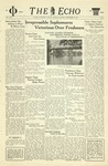 The Echo: September 30, 1939 by Taylor University