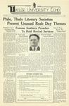 Taylor University Echo: October 14, 1939 by Taylor University