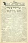 Taylor University Echo: October 28, 1939 by Taylor University