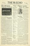 The Echo: November 11, 1939 by Taylor University