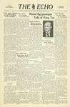 The Echo: December 2, 1939 by Taylor University