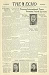 The Echo: January 27, 1940 by Taylor University