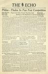 Taylor University Echo (November 2, 1940) by Taylor University