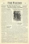 Taylor University Echo (November 30, 1940) by Taylor University