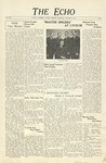 The Echo: January 21, 1942 by Taylor University