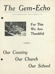 The Gem-Echo: November 25, 1942 by Taylor University