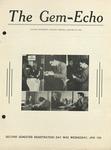 The Gem-Echo: January 21, 1943