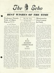 The Echo: December, 1943 by Taylor University
