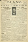 The Echo: October 8, 1947 by Taylor University