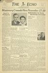 The Echo: November 19, 1947 by Taylor University