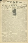The Echo: February 27, 1948 by Taylor University