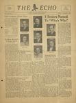The Echo: November 2, 1948 by Taylor University