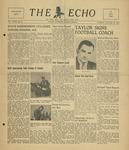 The Echo: January 25, 1949 by Taylor University