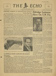 The Echo: February 8, 1949 by Taylor University