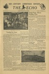 The Echo: December 20, 1949 by Taylor University