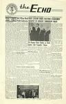 The Echo: October 31, 1950 by Taylor University