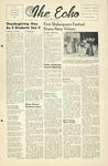 The Echo: November 26, 1952 by Taylor University