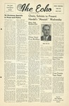 The Echo: December 16, 1952 by Taylor University