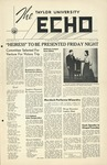 The Echo: February 17, 1953 by Taylor University
