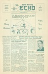 The Echo: December 8, 1953 by Taylor University