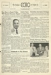 The Echo: September 28, 1955 by Taylor University