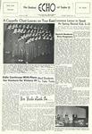 The Echo: January 18, 1956 by Taylor University