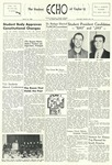 The Echo: March 21, 1956 by Taylor University