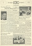 The Echo: November 1, 1956 by Taylor University