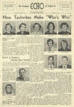 The Echo: November 14, 1956 by Taylor University