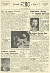 The Echo: January 16, 1957 by Taylor University