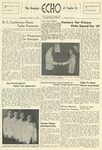 The Echo: February 6, 1957 by Taylor University