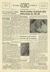 The Echo: January 15, 1958 by Taylor University