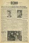 The Echo: October 1, 1958 by Taylor University