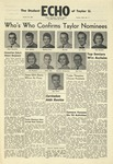 The Echo: October 29, 1958 by Taylor University