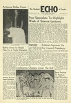 The Echo: March 4, 1959 by Taylor University