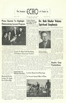 The Echo: October 7, 1959 by Taylor University