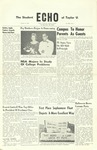 The Echo: October 21, 1959 by Taylor University