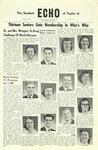 The Echo: November 4, 1959 by Taylor University