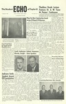 The Echo: January 21, 1960 by Taylor University