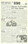 The Echo: September 22, 1960 by Taylor University