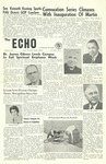 The Echo: October 5, 1960 by Taylor University