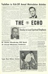 The Echo: September 28, 1961 by Taylor University
